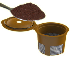 Ground coffee Adapter